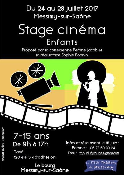 Stage cinéma enfant