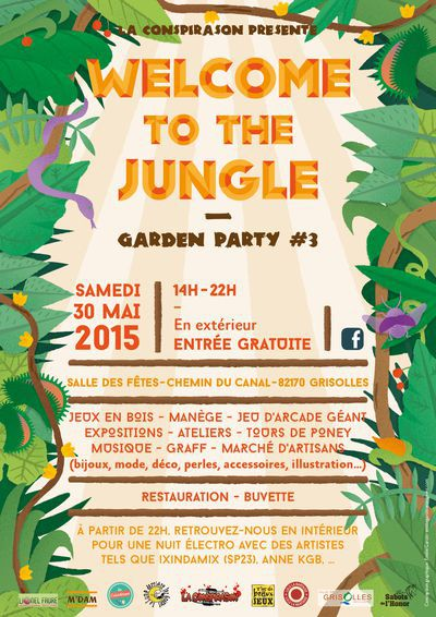 Welcome to the Jungle #3 : Garden Party