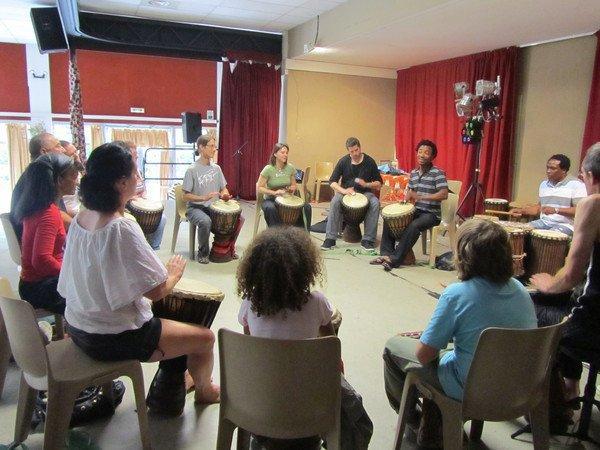 Association Agnizé - percussions africaines
