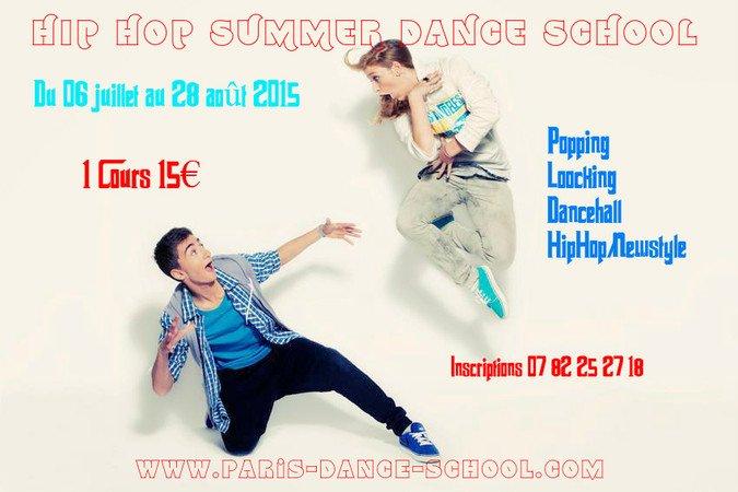 Grand stage d'été Hip Hop 2015 - Paris