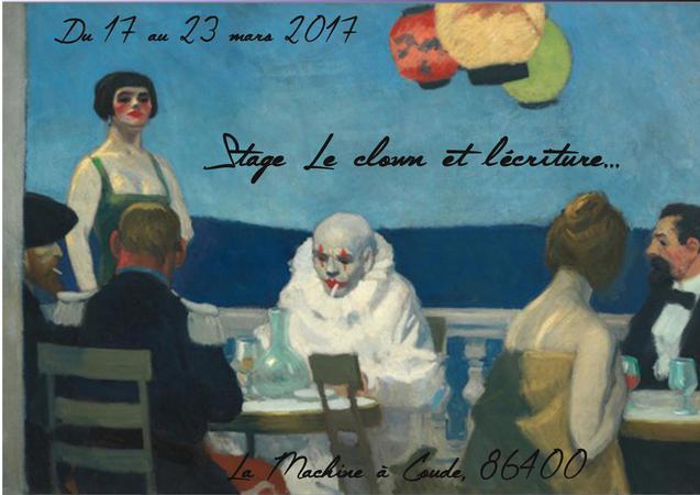 """Stage """"Le clown et l'écritrure"""""""