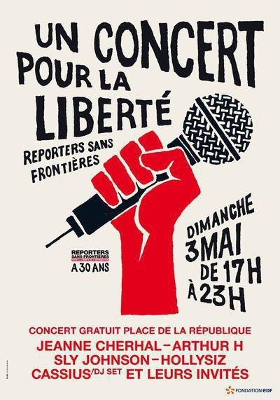 """""""Un concert pour la liberté"""" - Reporters sans frontières a 30 ans"""