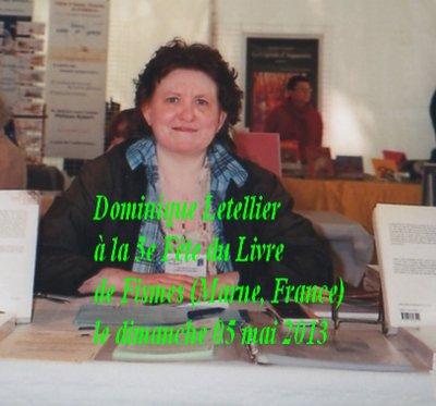 Dominique Letellier à la Fête du Livre de Fismes