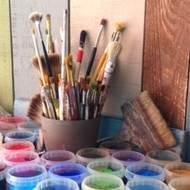 Atelier de peinture adulte