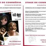 La Commedia dell'arte (jeu et et fabrication de masques)