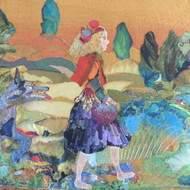 """tableaux textiles : """"AnnSan Créations"""""""