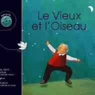 """Livre CD """"Le vieux et l'oiseau"""""""