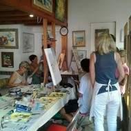 cours de dessin et peinture à la carte