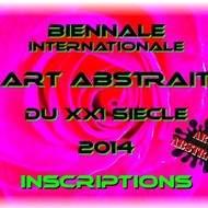 inscriptions biennale art abstrait du xxi siecle