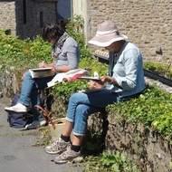 Stage de carnet de voyage en Côtes d'Armor
