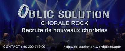 Oblic Solution, chorale rock